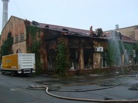 пожар на к-студия Довженко