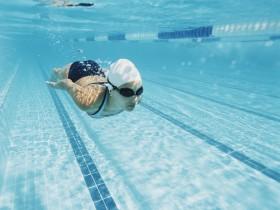 плавание, водоем