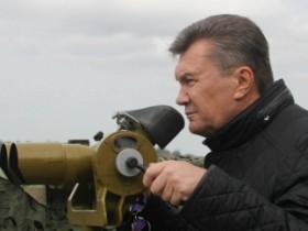 Янукович на учениях