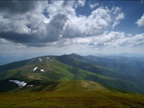 горы в,Карпаты
