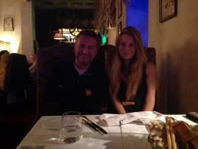 Леонид Агутин с дочерью