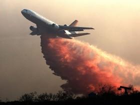 пожар воздушного судна