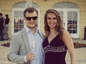 Наталья Ищенко с мужем