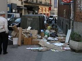 свалка,забастовка мусорщиков