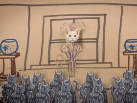 недоедающие игры кошачьи