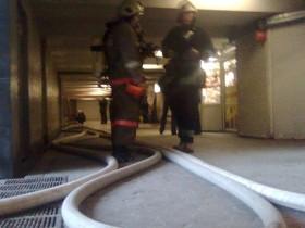 пожар в запаху