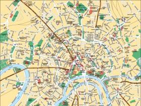 диаграмма города Москва