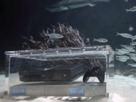 Xbox One под жидкостью