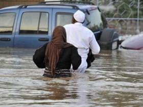 дождь в саудовской аравии