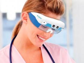 Для медсестер спроектировали очки, узнающие вены через кожу