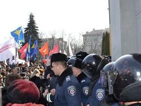 митинг в Черкассах