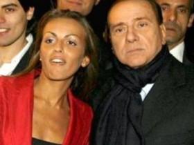 Франческа Паскале с Берлускони