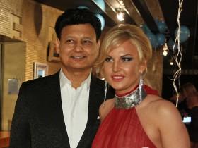 Камалия с супругом