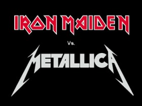 Metallica,Iron Maiden