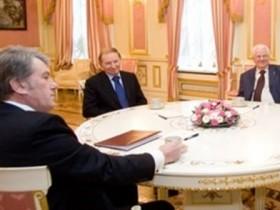 кравчук,ющенко,кучма