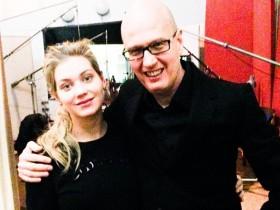 Кристина Асмус и Юрий Верник