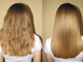спрессовывание волос