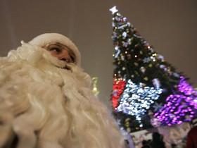 елочка,Санта Клаус