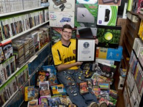 небывалая коллекция, видеоигры
