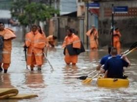 затопление в бразилии