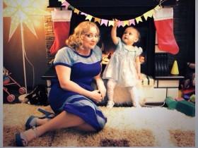 Наталья Пермякова с дочерью