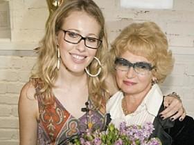 Ксюша  Собчак с матерью