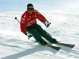 шумахер на лыжах