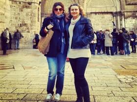 Жанна Бадоева с сестрой