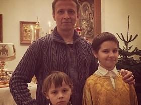 Евгений Охлобыстин с детьми