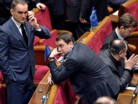 парламентарии в раде
