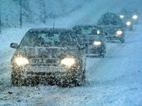 автотрасса зима