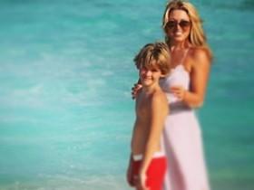 Елена Дубцова с сыном