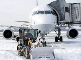 аэродром,зима