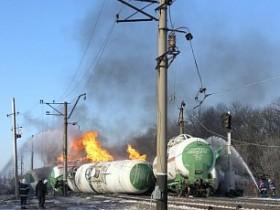 взрыв цистерн с газом