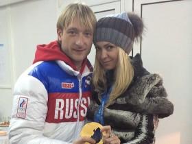 Яна Рудковска и Евгений Плющенко