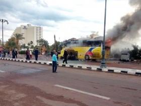 взрыв автобуса египет