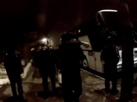 блокирование автобуса