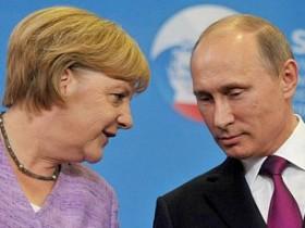 меркель и путин