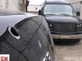 """Возле """"Жулян"""" расстреляли авто семьи Януковича? (ВИДЕО)"""