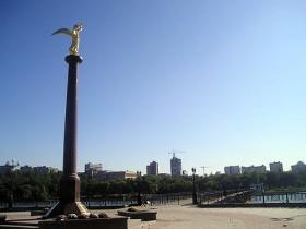 Ахметов,ангел,мира,памятник,донецк