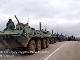 Из РФ переброшено около 50 танков через Керченский пролив