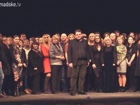 Обращение украинских актеров к российским коллегам (ВИДЕО)