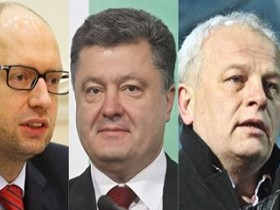 Что обещают бизнес-сообществу Яценюк, Порошенко и Кубив?