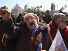 Митинги в Донецке - кривое зеркало киевского Евромайдана