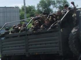 Колонна террористов из РФ с боем прорвалась в Луганск. ВИДЕО