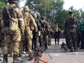 В городе Днепропетровск создают батальоны Ворошиловград и Артемовск