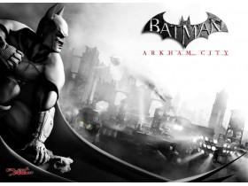 Batman,,Arkham,City,,бэтмен,,девушка,собака,,Квинси,Шарп,,Готэм,,законопроект,,порядок,,правосудие,,США,,НьюЙорк,,двуликий,