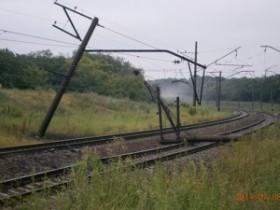 Взрыв на ж/д-перегоне Ясиноватая-Скотоватое