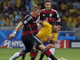 ЧМ 2014: Бразилия - Германия 1:7 (ВИДЕО)