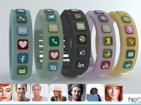 Hicon Social Bangle,браслет,